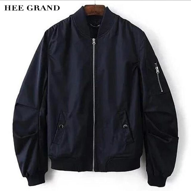 We love it and we know you also love it as well HEE GRAND Flight Pilot Thin Jacket Coat For Men 2017 New Arrival Stand Collar Stylish Spring Autumn Coat Plus Size S-XL MWJ2254 just only $25.59 with free shipping worldwide  #jacketscoatsformen Plese click on picture to see our special price for you