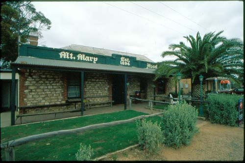 Without the Mount Mary pub in South Australia, there'd be no Mount Mary.