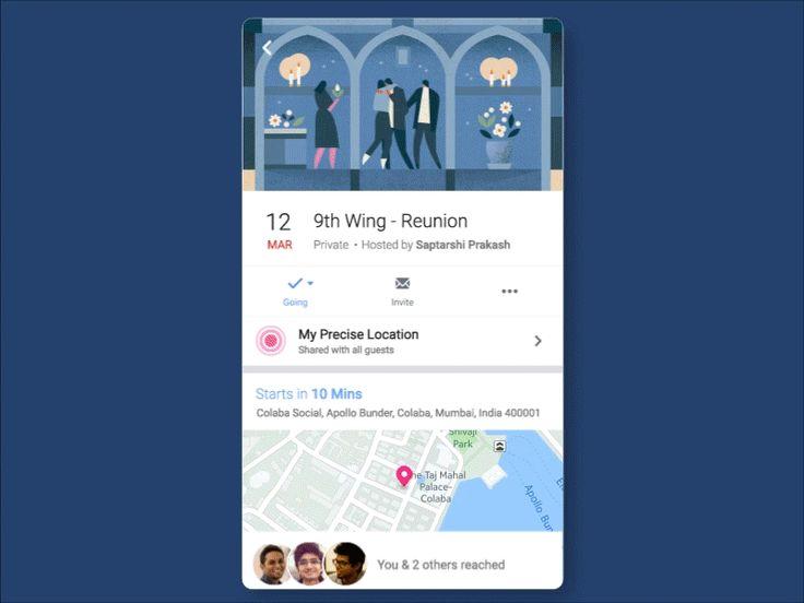 Facebook Events - Live Tracking Attendees by Saptarshi Prakash