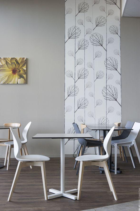 LA CAFET' DU MOUN - Leclerc Mont de Marsan Aménagement restaurant ©BleuVertConcepts #BleuVertConcepts #RestaurantDesign ©LaurentPascal