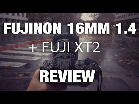 (37) Fujinon 16mm 1.4 + XT-2 After 8 Months REVIEW - YouTube