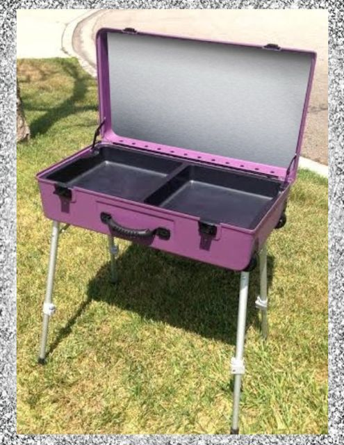 Craft N Go Paint Station W Adjustable Legs Face Paint Painting