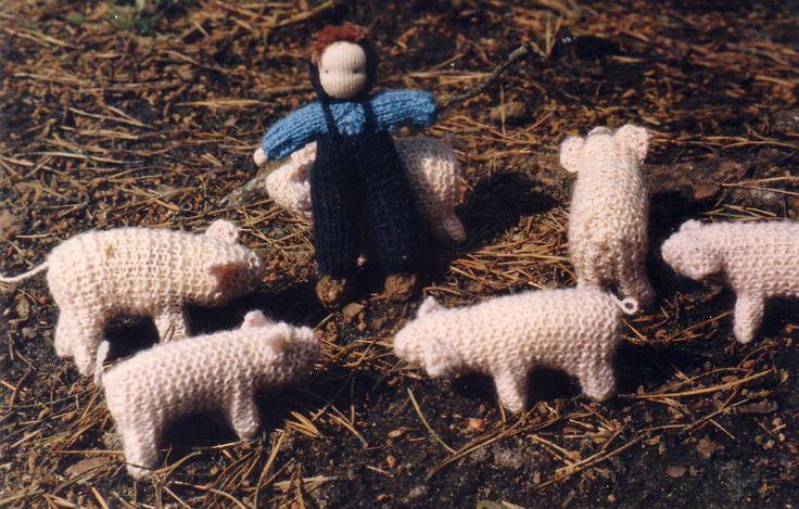"""""""Wir stricken einen Bauernhof"""""""