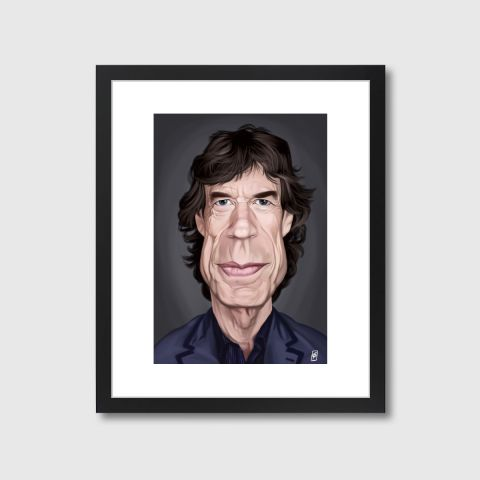 Celebrity Sunday - Mick Jagger | Monde Mosaic art | decor | wall art | inspiration | caricatures | home decor | idea | humor | gifts