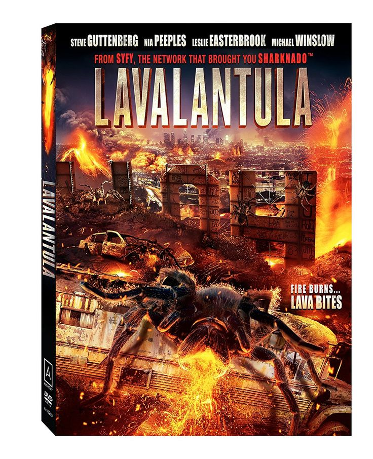 Amazon.com: Lavalantula: Steve Guttenberg, Nia Peeples, Danny Woodburn, Leslie Easterbrook, Michael Winslow, Mike Mendez: Movies & TV