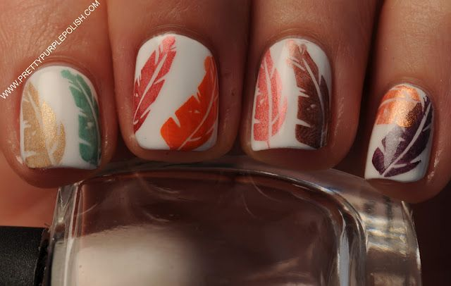 Nail Stamping....this is really pretty