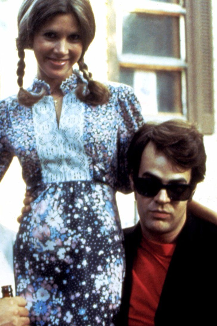 images about celebs hanging out together dan aykroyd pays tribute to his ex fiancatildecopye carrie fisher in an emotional