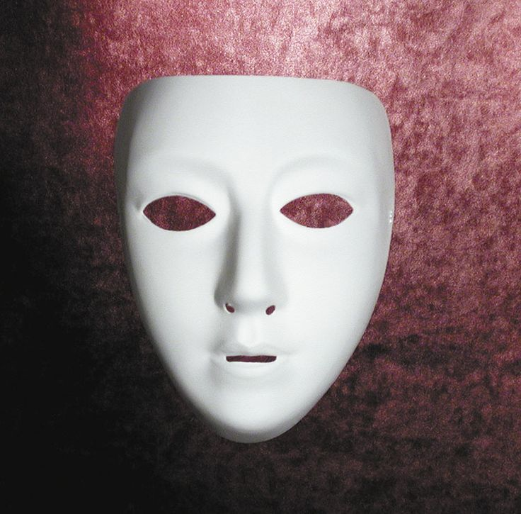 Cool Costume Accessories Blank Female Mask just added...