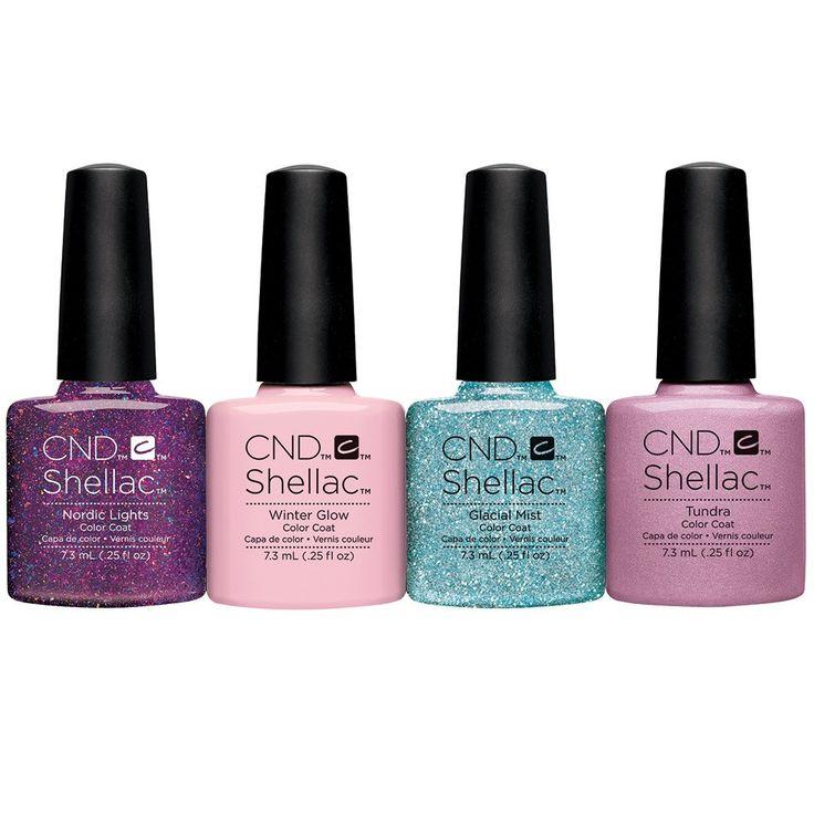 CND Shellac Aurora Collection 4-pk.