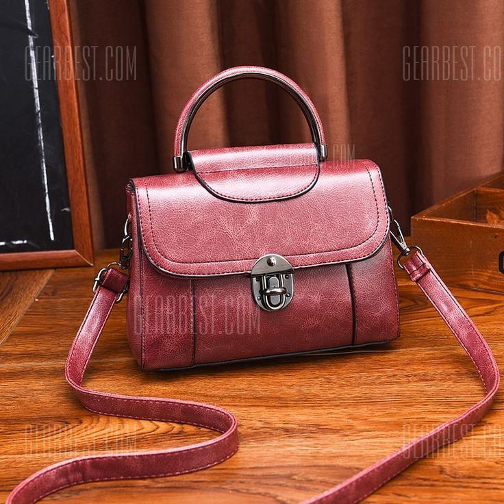 British style <b>small square</b> bag female 2018 <b>new</b> vintage lock ...