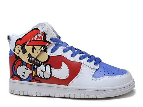 com for Nike Dunks For SaleNike Dunks Casual Shoes Mens Super Mario Cartoon