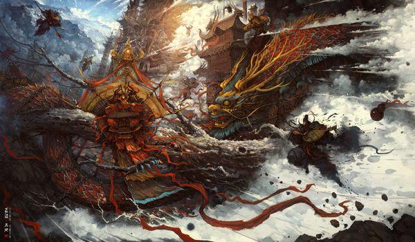 The Legendary Swordsman on Behance