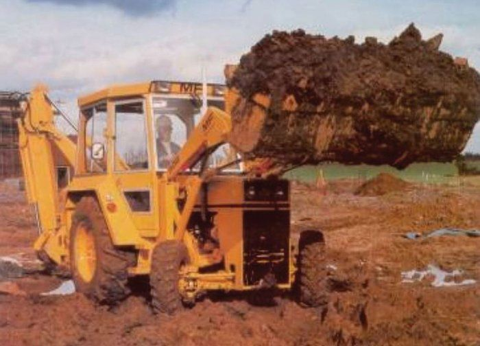 From Massey to Terex: 55 years of Britain's other backhoe loader #burnsequipmentgroup