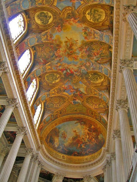 Michael Angelo Ceiling Painting by Windy Man, via Flickr