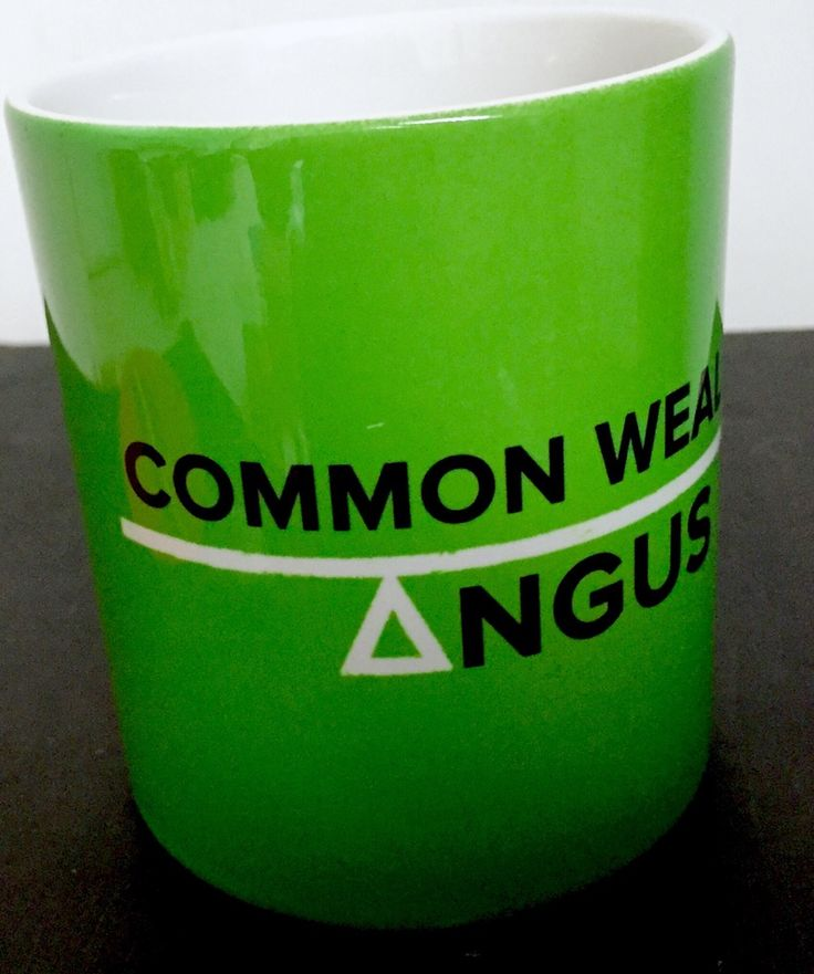 Image of COMMON WEAL ANGUS LOCAL CAMPAIGNS MERCH