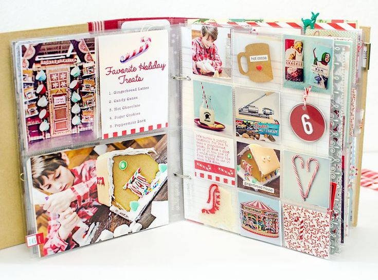 December Daily- Favorite Holiday Treats Card