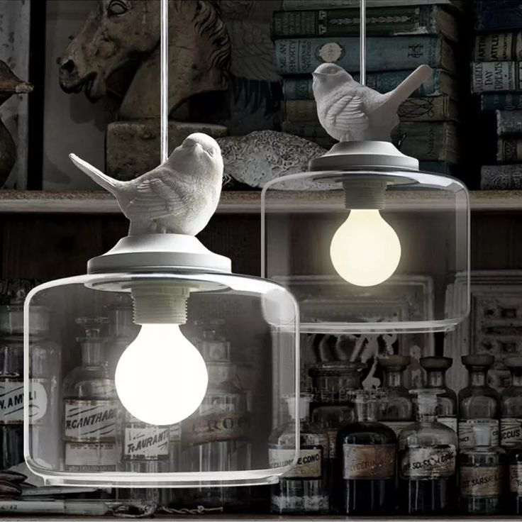 Lovely Resin Angry Bird Pendant Light/Lamp,Glass Lampshade,220v E27 Edison Dragon Ball Bulb,White Painted Resin Material Low Voltage Pendant Lights Pull Down Pendant Light From Jeffreyyu2011, $109.55| Dhgate.Com
