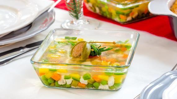 Заливное «Мозаика». Пошаговый рецепт с фото, удобный поиск рецептов на Gastronom.ru