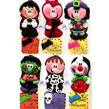 Resultado de imagen para bubulubus decorados halloween