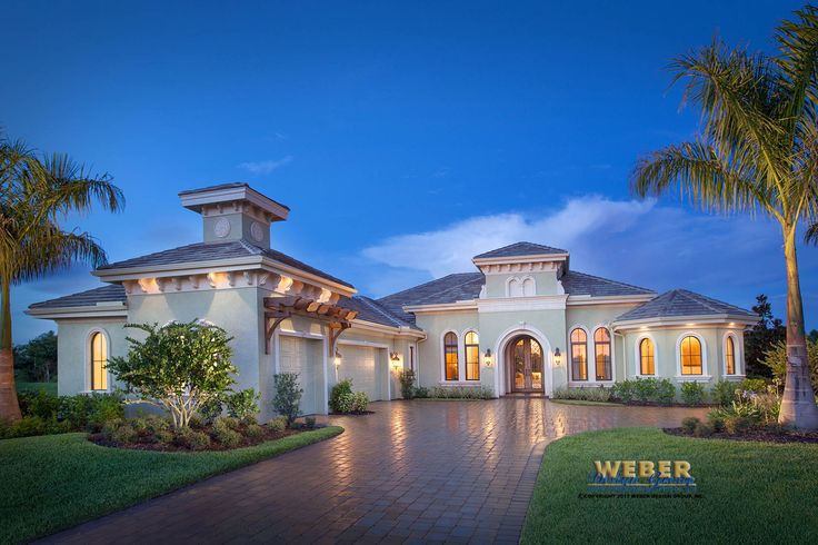 tuscan style one story homes | Print Elevation | View Larger Image