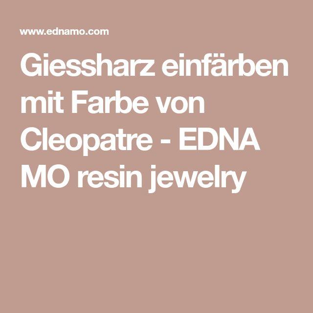 giessharz einf rben mit farbe von cleopatre edna mo resin jewelry jeansjacken pinterest. Black Bedroom Furniture Sets. Home Design Ideas