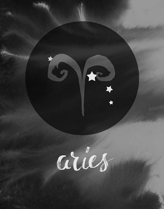Widder Sternzeichen Astrologie Geschenk Boho Sternzeichen