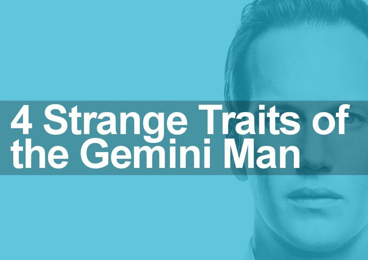 Gemini traits and characteristics are examined and reviewed in this special personal profile of the Gemini man as I reveal the four strangest Gemini traits.