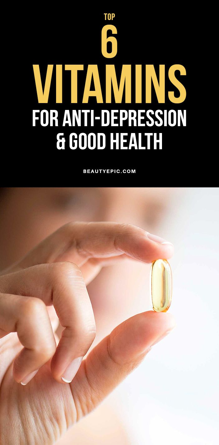 Top 6 Vitamins for Depression For Good Health