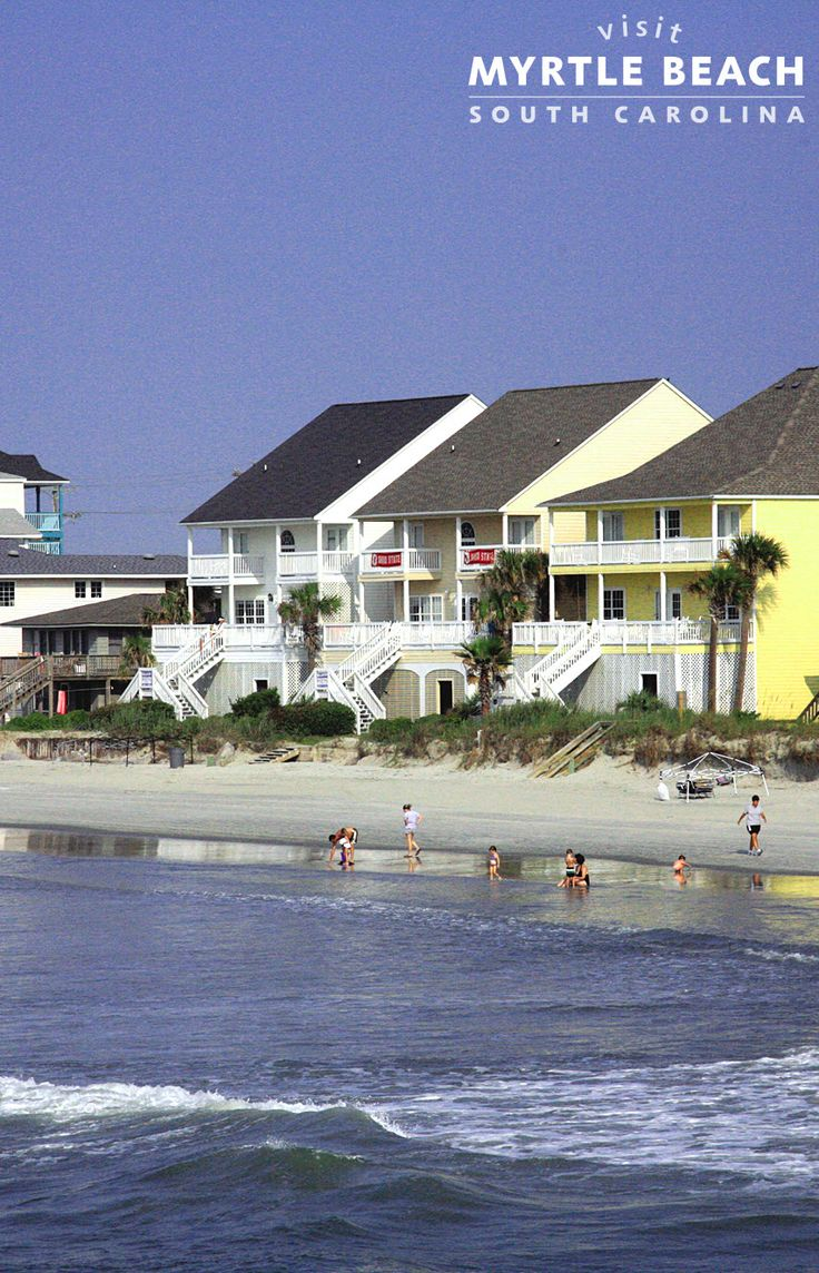Bring the whole family to the beach! Rent one of these lovely beach houses in Myrtle Beach, SC - http://www.visitmyrtlebeach.com/hotels/beach-houses/?cid=soc_post_pin_promo_beach_houses_010215.