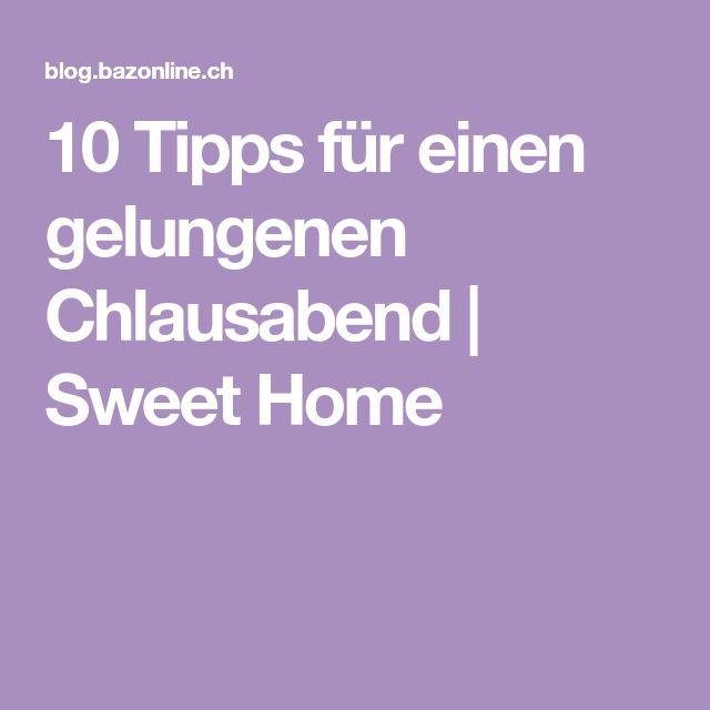 10 Tipps für einen gelungenen Chlausabend | Sweet Home