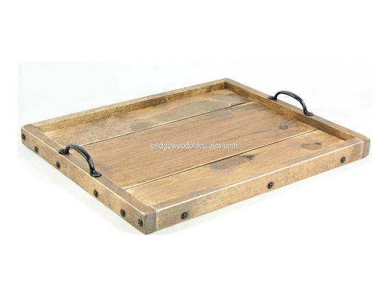Ottoman Tray Wooden Coffee Table Tray Dry Use Serving Tray Wedding Gi