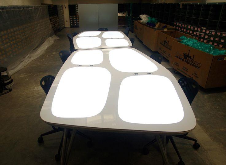 led light panel custom edgelit acrylic light sheet