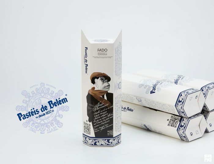 # pasteis de belem - lisbon (portugal) @ packaging by fanq