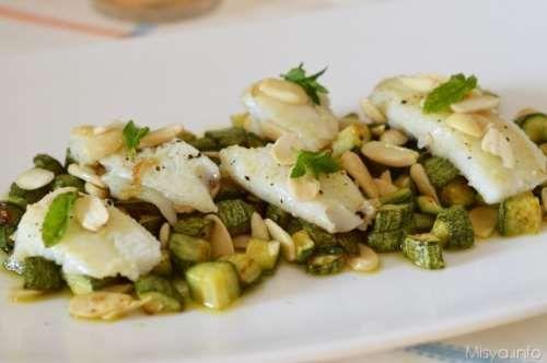 Ricette  Filetti di platessa con zucchine  in English this fish is called European Plaice
