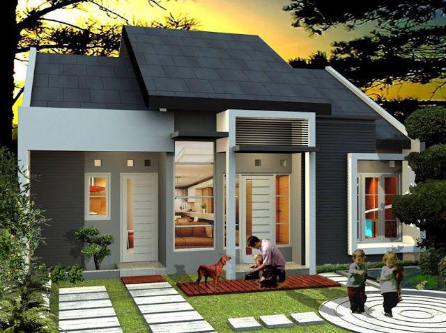 65 Modern Minimalist 1 Floor Home Designs For Families Minimalist House Design Small House Design Dream House Plans