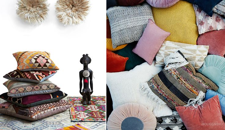Get inspired by the beautiful and colourful design of boheme.