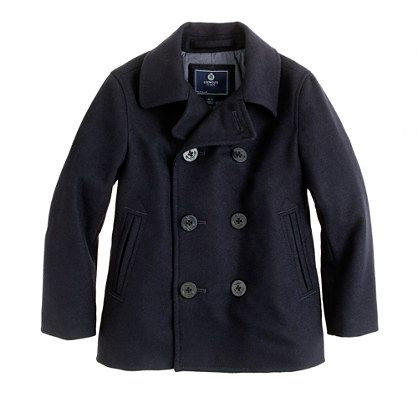 Boys' city peacoat from JCrew. Hoping to find Li another peacoat for this year! (just not a $178 one! insanity!)Jcrew Boys, Kids Style, Cities Peacoats, Classic Peacoats, Boys Style, Preppy Boys, Kids Fashion, Boys Outfit, Boys Clothing