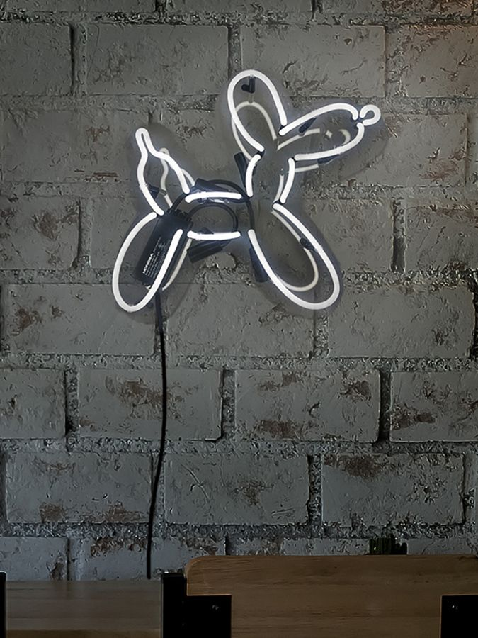 Oliver Gal Balloon Dog Neon Sign