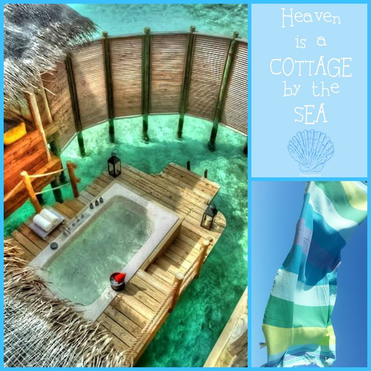 Fouta Casablanca in blue and green.