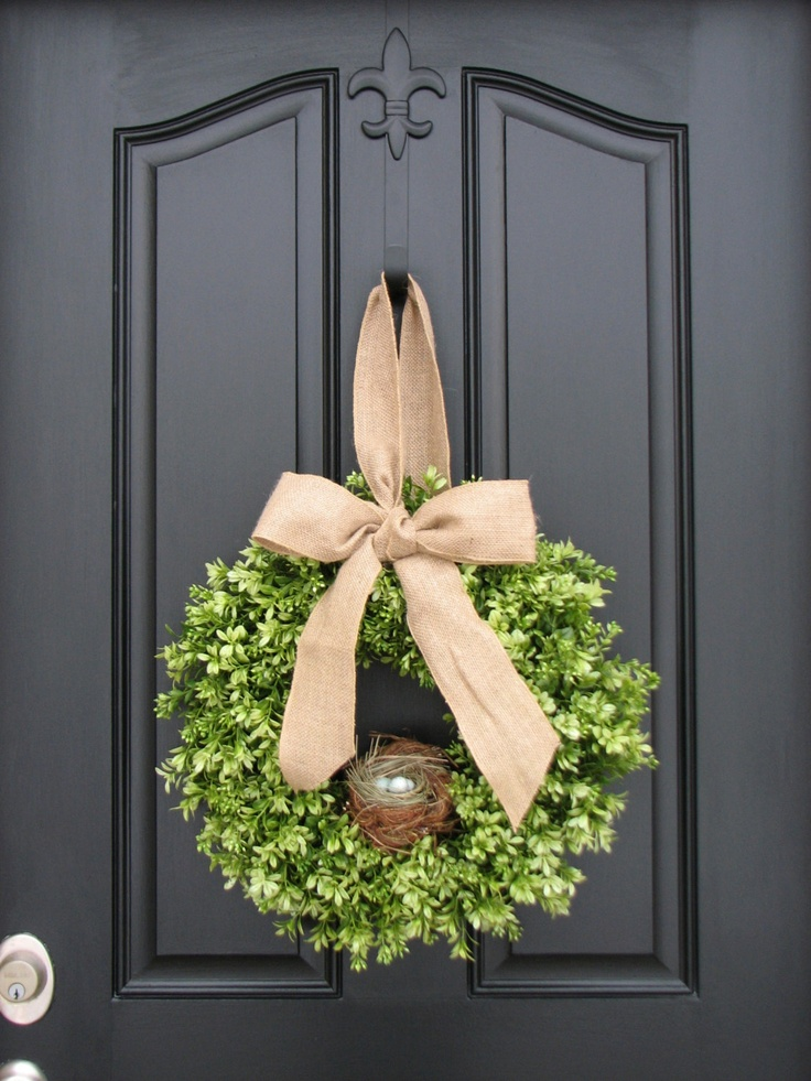 111 best Door Decorations images on Pinterest | Christmas ...