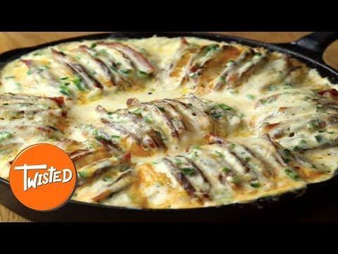 Jalape 241 O Popper Hasselback Potatoes Twisted ─ Twisted Recipes Hasselback Potatoes