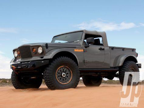 Big Tease Mopar Jeep Concepts - Jp Magazine