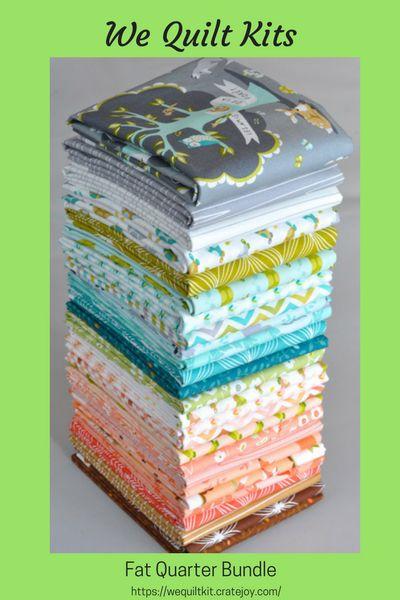We Quilt Kits Subscription Box | Cratejoy