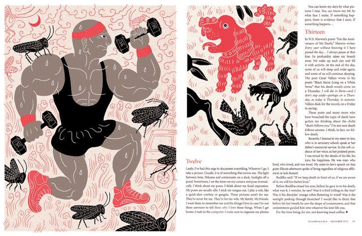 Shambhala Sun Magazine - ♨ Tomi Um ♨