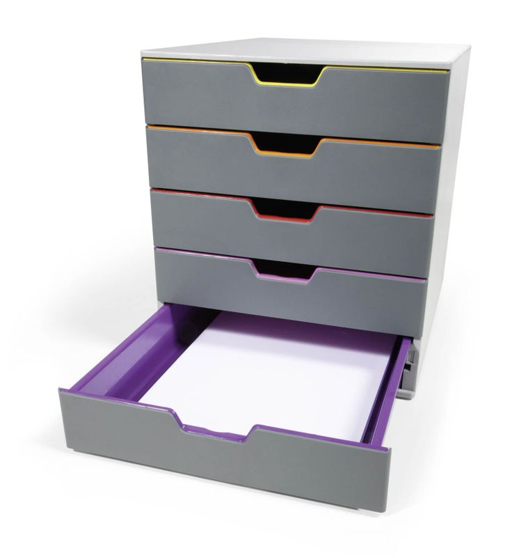 Varicolor® 5. High quality and robust. Features non slip rubber feet and 5 deep trays.