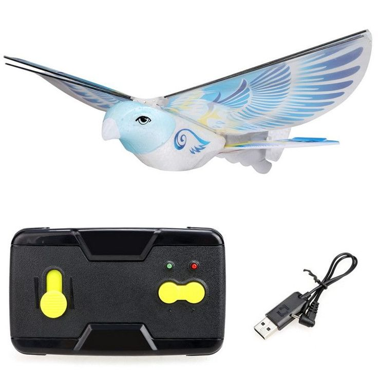 New RC Toy Flappy RC Bird 2.4G Remote Control Authentic E-Bird Boy Aircraft Flying Quadrocopter RC Drone RC Plane