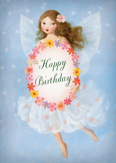 Happy Birthday Fairy   Stephen Mackey Design