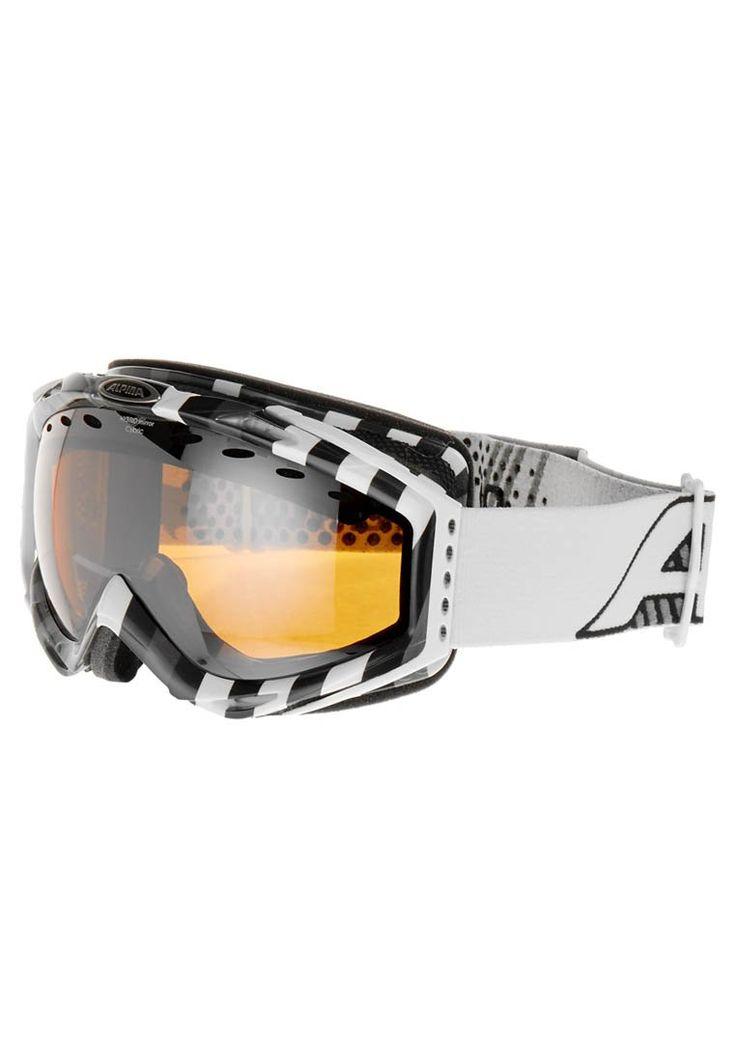 Alpina - CYBRIC HM - Gogle narciarskie - czarny