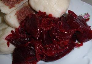 Cibulová červená řepa - sladkokyselá příloha