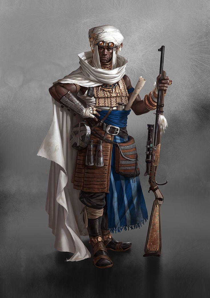 Neolibyans-archetype by Marko-Djurdjevic.deviantart.com on @deviantART